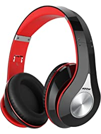 Mpow 059 Bluetooth Headphones Over Ear, Hi-Fi Stereo Wireless Headset, Foldable, Soft Memory-Protein Earmuffs, w/Built-in...
