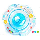 Volwco Baby Swim Ring, Inflatable Swimming Seat Infant Waist Pool Float Ring Swimming Pool Floating Seat For Toddler (1-3 Years)
