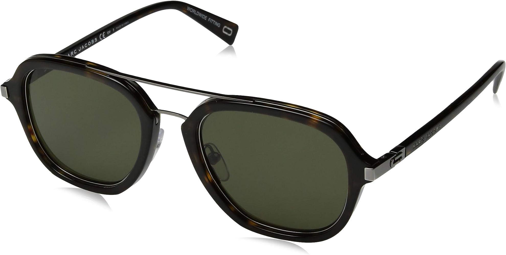 Amazon.com: marc jacobs marc172s Aviator anteojos de sol ...