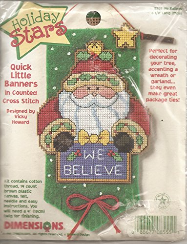 we believe santa holiday stars
