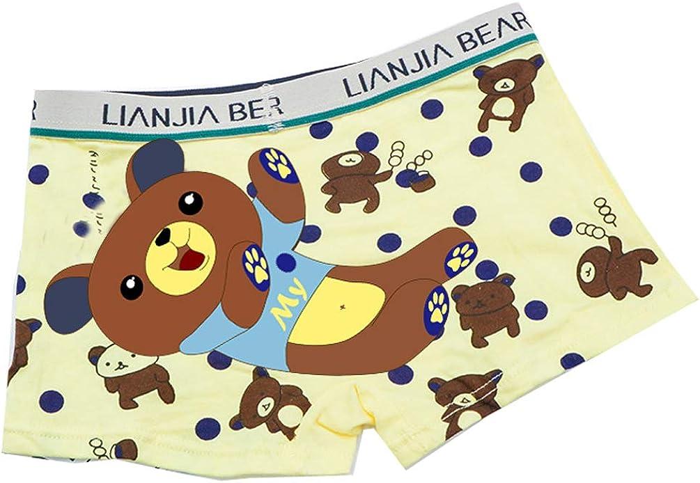 YCandJY Toddler Little Boys Underwear Soft Cotton Kids Underwear Cartoon Boys Boxer Briefs Mix Color