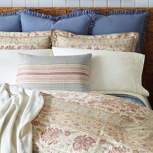 (Ralph Lauren Half Moon Bay Phoebe 3 Piece Full/Queen Comforter & Shams Bundle Set)