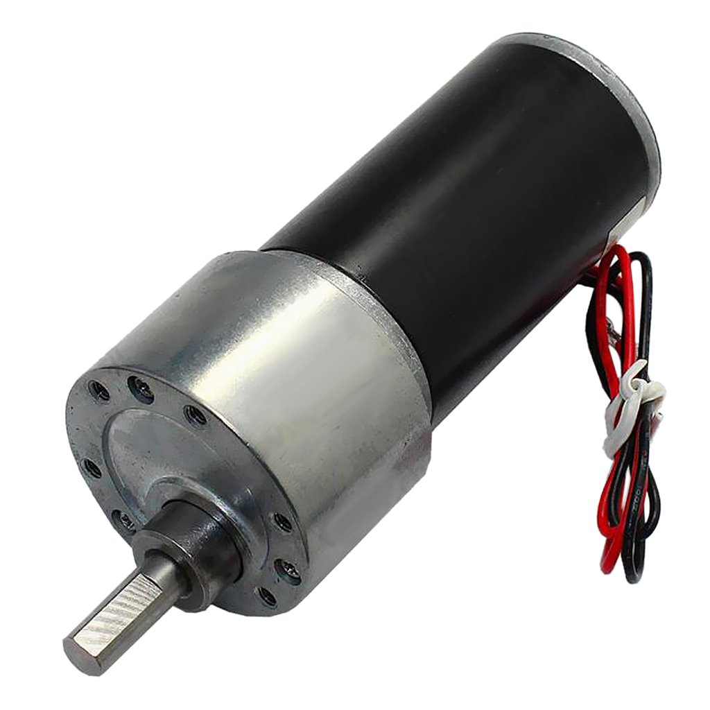 perfk Hochdrehmoment Getriebemotor Motor DC Metall Geschwindigkeitsreduzierung Getriebe - 12V 800RPM