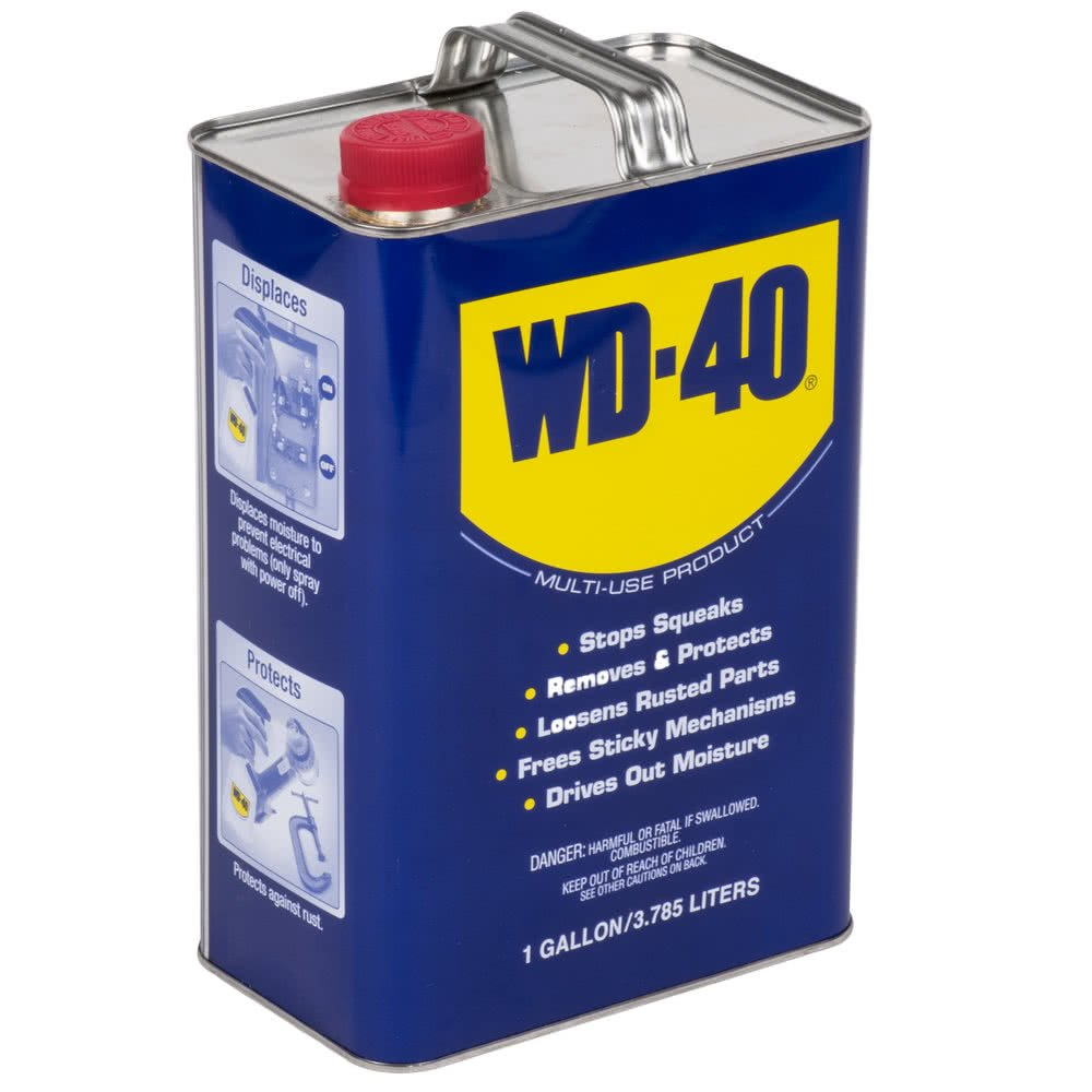 WD-40 Multi-Use Product, One Gallon [4-Pack] by WD-40 (Image #2)