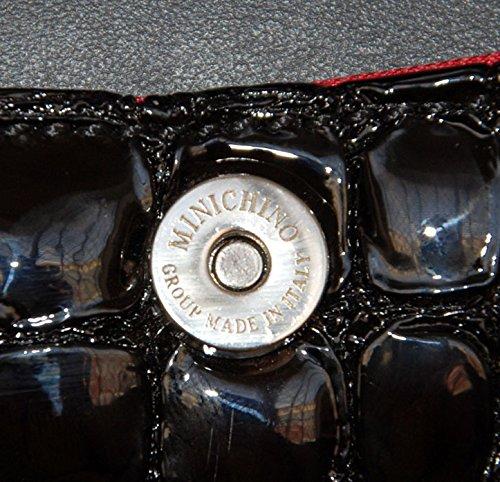 main Noir 1212 25x12x15 pour AM femme Noir à Sac Minichino agWFxSnwfq