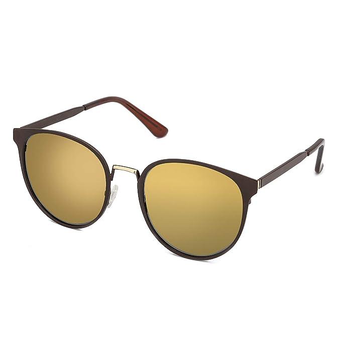 Amazon.com: Gafas de sol polarizadas para mujer, con marco ...