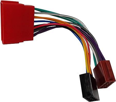Aerzetix B7 Iso Konverter Adapter Kabel Radioadapter Radio Kabel Stecker Iso Kabel Verbindungs Auto
