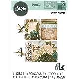 Sizzix LK Thinlits Die JournalingCard, Journaling Cards