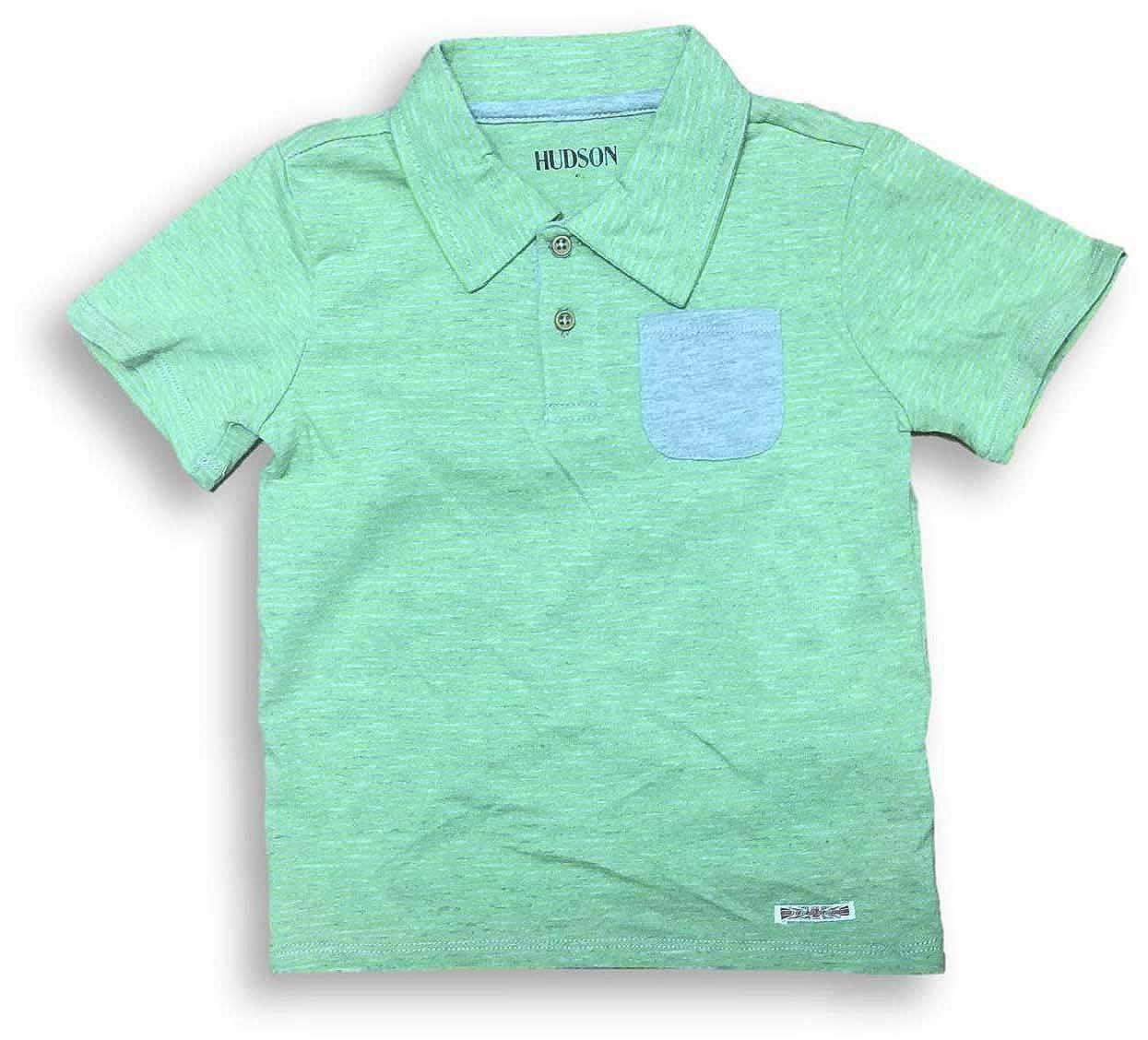 Hudson Kids 2 Pc Piece Polo /& Jeans Boys Set