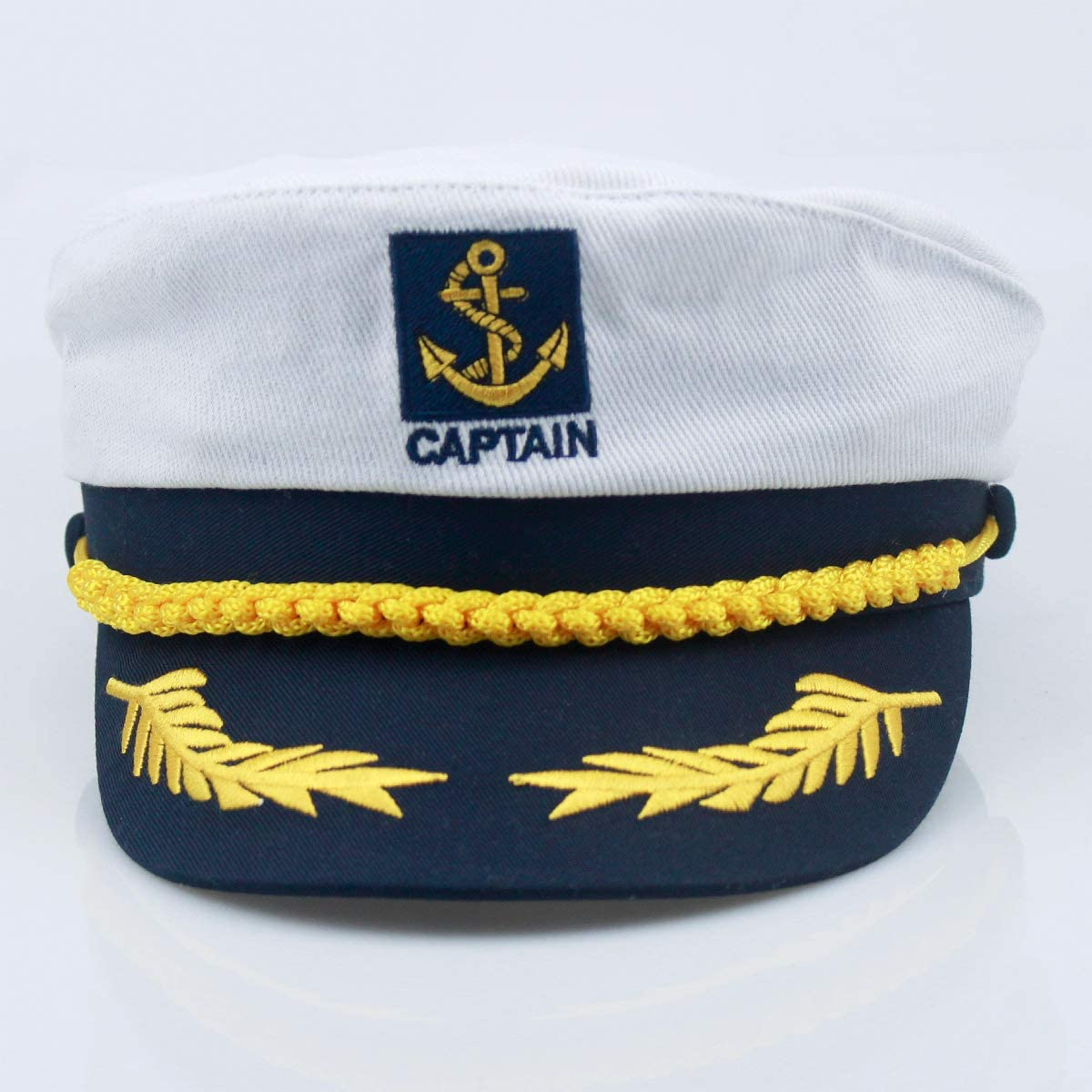 Navy Captain Admiral Hat By Dress up America One Size