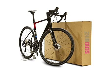Caja de cartón para bicicleta, caja de transporte: Amazon.es ...