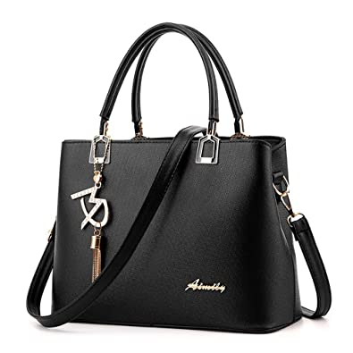 e2aa8bb897d Amazon.com: Aelicy Women Leather Totes Bags Handbags Women Famous ...