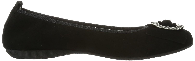 Diavolezza IRENE (schwarz) Damen Geschlossene Ballerinas Schwarz (schwarz) IRENE 8509ff