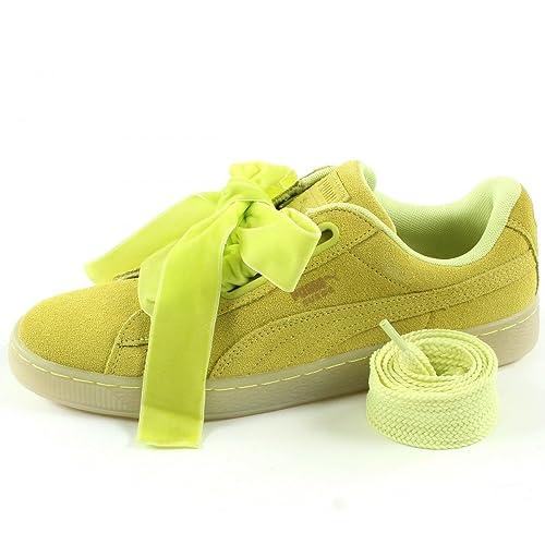 Puma Suede Heart Velvet Rope, Zapatillas para Mujer: Puma: Amazon.es: Zapatos y complementos