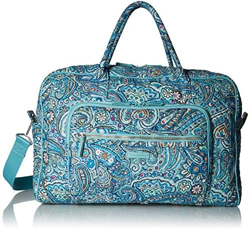 Vera Bradley Signature Weekender Cotton Travel Bag
