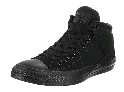Converse Unisex Chuck Taylor All Star High Street Hi Black/Black Casual Shoe  4 Men
