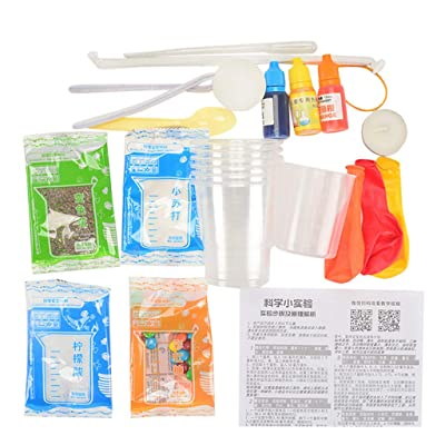 Science Experiment Kit - Educational Toys DIY Handmade Experiment Lab Toys Gift for Kids & Teens, Boys & Girls: Clothing