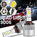 9006 headlight bulb 100w - DJI 4X4 9006 HB4 LED Headlight Bulbs Kit, LED Headlamp Advanced CREE Chips 100W 10000LM 6000K Cool White - 1 Pair