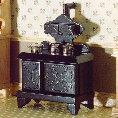 The Dolls House Emporium Victorian Stove With Hotplates