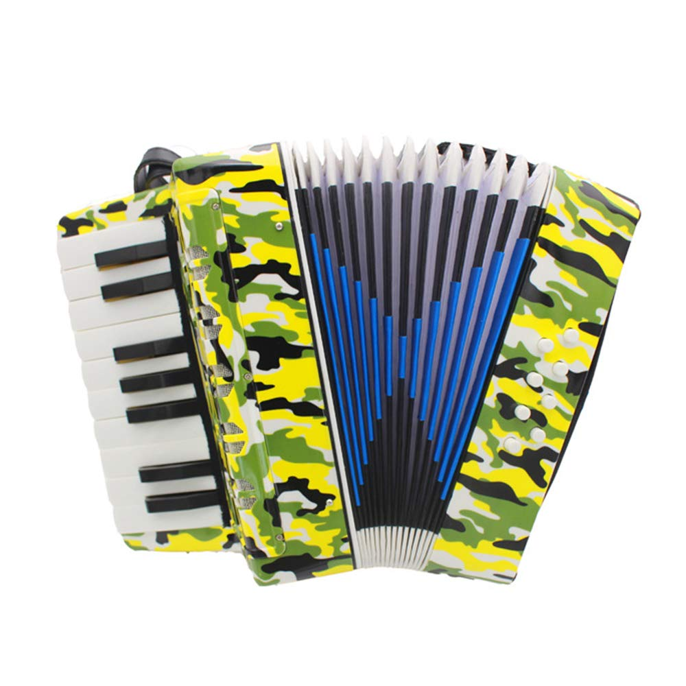 TECHLINK Accordions Toy Musical Education Musical Instrument Portable 17 Keys 8 Bass Promotes Childern Accordion Children's Gift