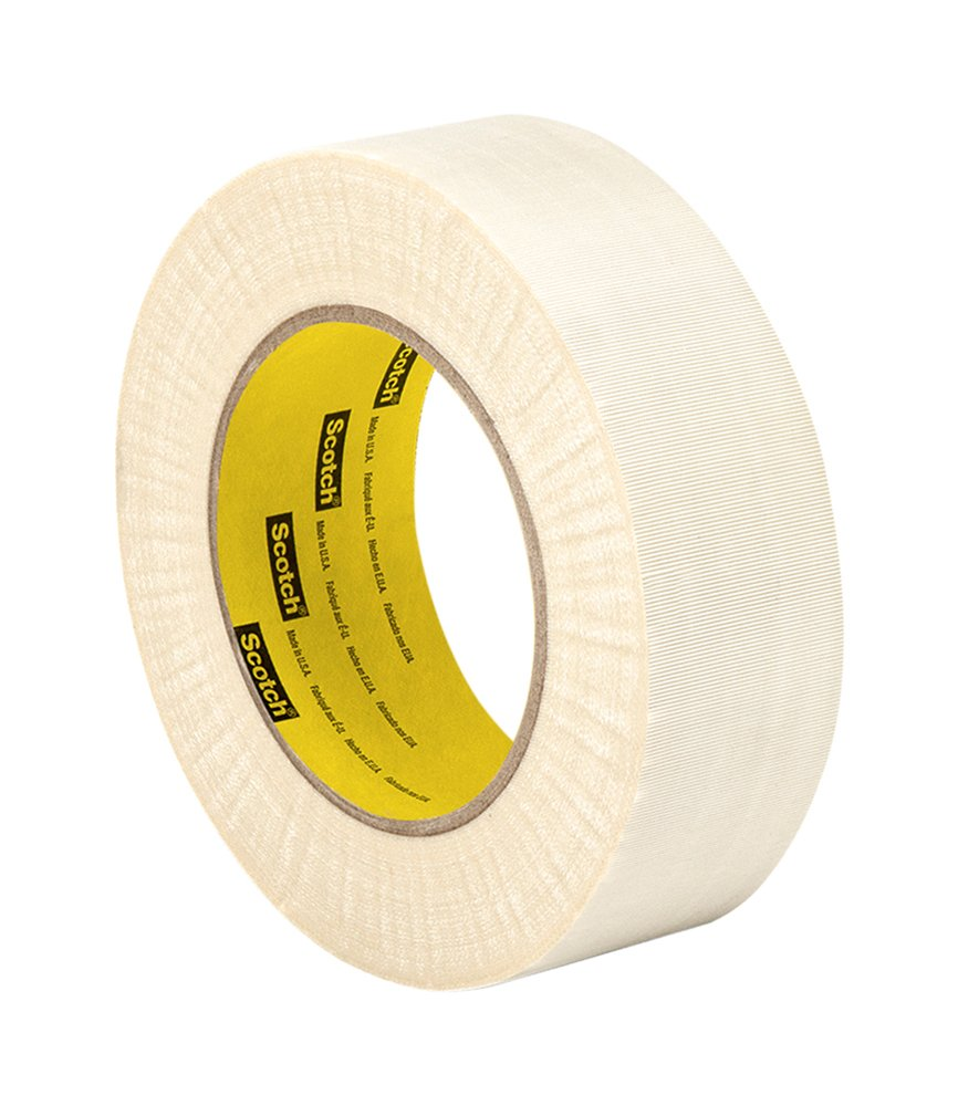 3M 27 Cloth Electrical Tape, 1.5'' width x 60yd length (1 roll)