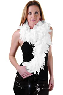 Feather Boa Outfit Accessory for 20s 30s 40s 50s 60s 80s Fancy Dress 60gm//1.7M Hot Pink