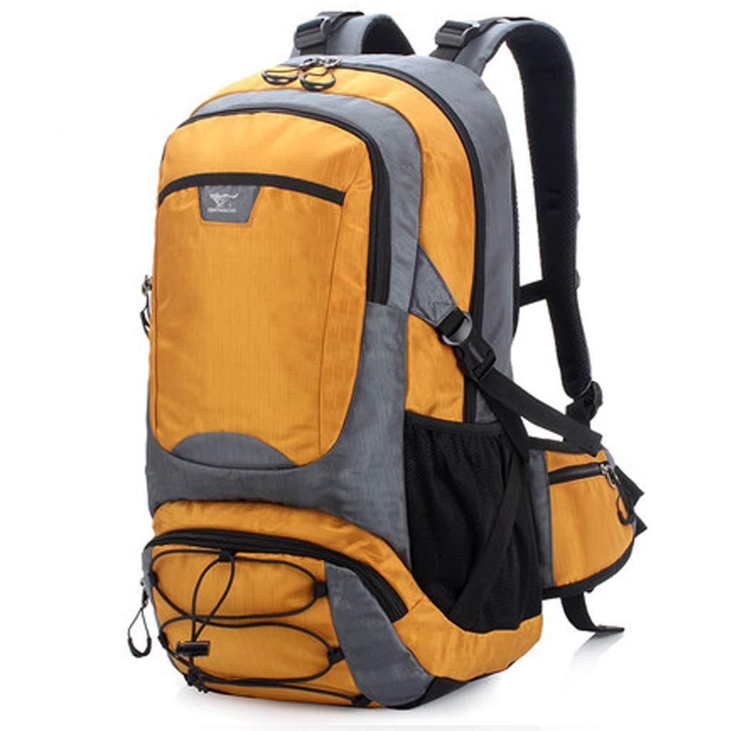 JTWJ アウトドア登山バッグバックパック男性と女性のハイキングバッグアウトドアバックパック大容量バックパック40 L (Color : 3)