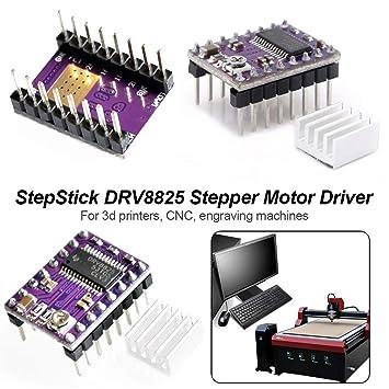 PCB Purple Board DRV8825 - Placa para disipador de calor de motor ...