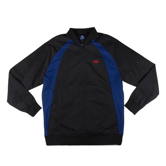 f080554d76e007 Air Jordan Wings Track Jacket 872861 010 Black Varsity Royal University Red  sz XXL US  Amazon.ca  Clothing   Accessories