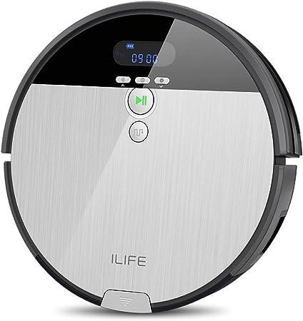 ILIFE ILIFE0005-ES Aspirador V8S Robot Piso de Barrido y Fregado con Tanque de Agua, 5 Modos de Limpieza, Plástico, Multicolor: Amazon.es: Hogar