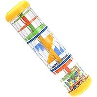 ammoon Bastone della Pioggia 8 pollici Giocattolo Musicale per Bambini Giochi KTV Festa