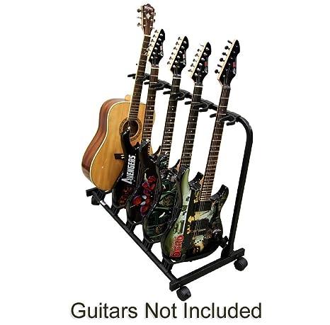 Guitarra 5 carrito soporte Pro Audio etapa, Studio o pantalla de goma separador soporte para
