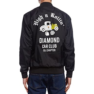 Diamond Supply Co - Diamond Club Varsity - Chaqueta ...