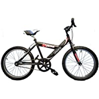 Monk Bicicleta para NIÑOS ECONÓMICA STARBIKE DE MONTAÑA RODADA 20 1 Velocidad (Negra)