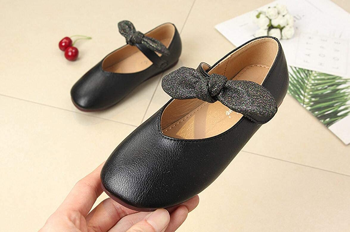 Black 26//9.5M US Toddler Girls Classic Loafers Flat Shoes Walking Shoes Casual Shoes