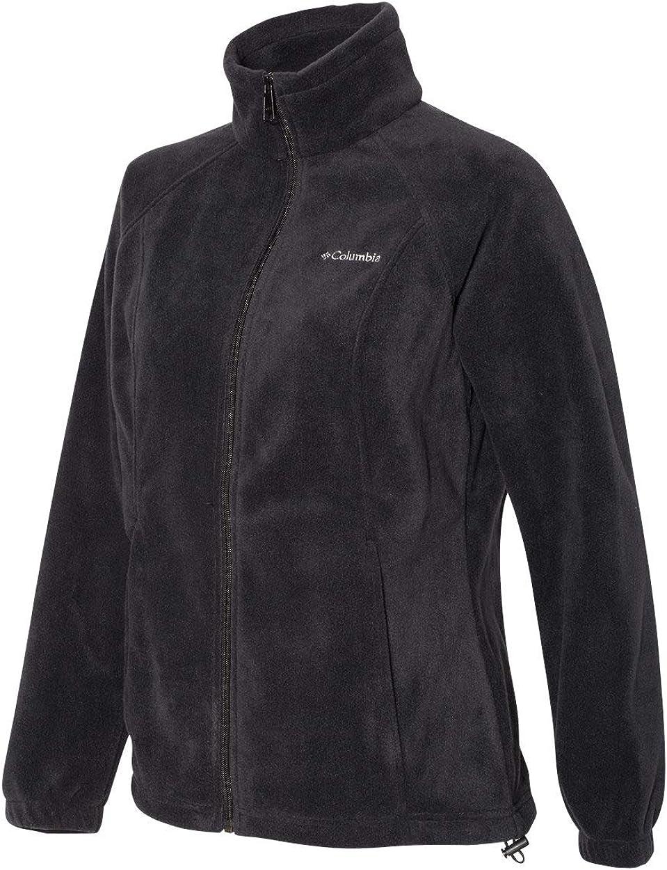 Columbia 6439 Benton Springs Full-Zip Jacket MED Black