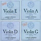 Larsen 4/4 Violin String Set Medium Gauge with Ball-End E