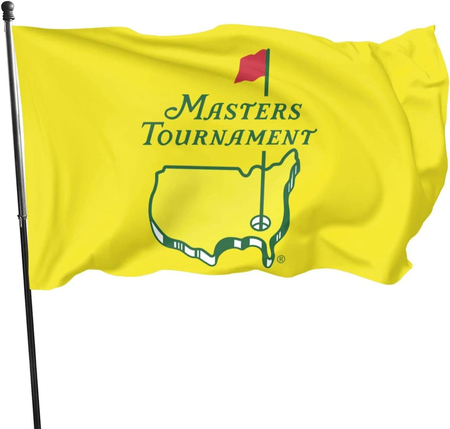 Masters Tournament Augusta National Golf Home Garden Flag for Outdoor House Porch Decoration Sunset Hikers Flag Banner 3x5