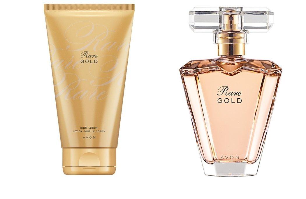 888bfde517c Avon Rare Gold Eau de Parfum Spray AND Body Lotion Set  Amazon.co.uk  Beauty