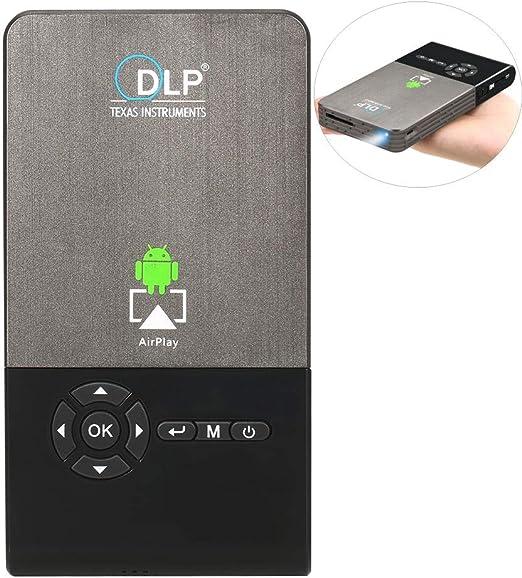 XZGG Proyectores 4k Smart TV Mini Proyector Portatil Full HD ...
