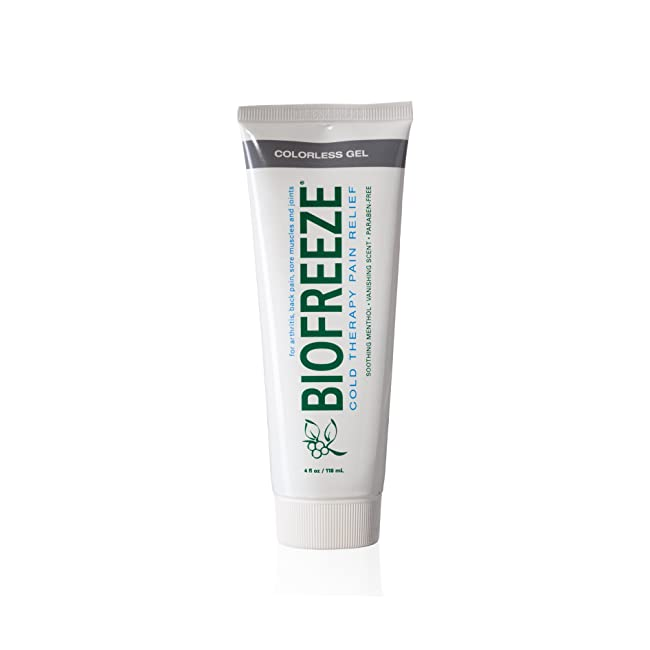 Biofreeze Pain Relief Gel, 4 oz. Tube, Cooling...
