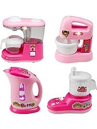 Kids Kitchen Set , Home Mini Appliances, Fajiabao Kitchen Toy Set Household Appliance  Kitchen Play