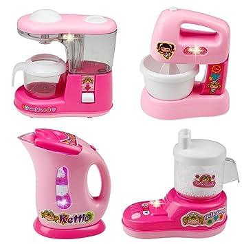 Amazon Com Kids Kitchen Set Home Mini Appliances Fajiabao