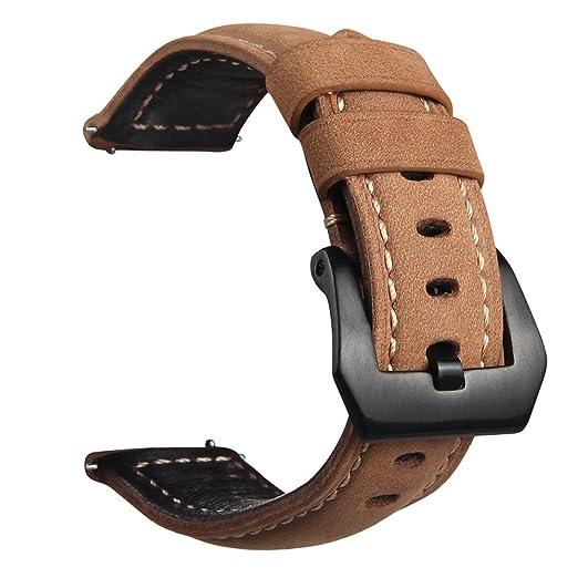 21 opinioni per V-MORO Cinturino per Samsung Gear S3 Frontier/Classic, Cinturino di Ricambio in