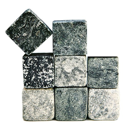 Sparq The Original Soapstone Whiskey Rocks, Set of 8 SP3