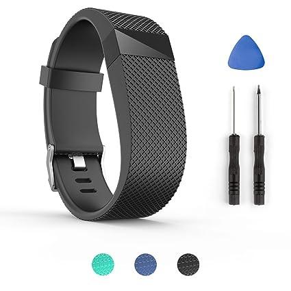 64d3bee94d4 Tosenpo - Correa de repuesto para pulsera inteligente Fitbit Charge ...