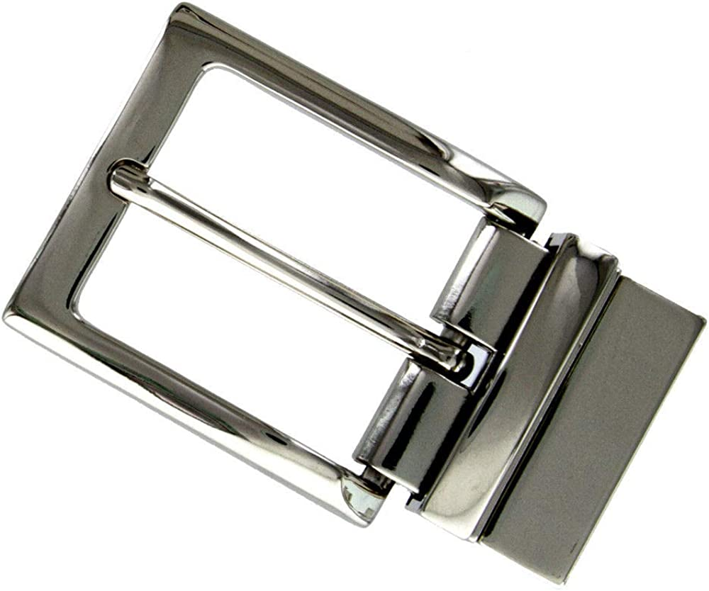 Antique Silver Tone Buckle Hardware