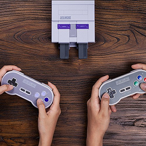 HIOTECH Wireless Controller 2.4GHz Wireless 8Bitdo SN30 Classic Video Game Joystick Gamepad for Super NES / SFC / SNES Classic Edition (Color)) by HIOTECH (Image #3)
