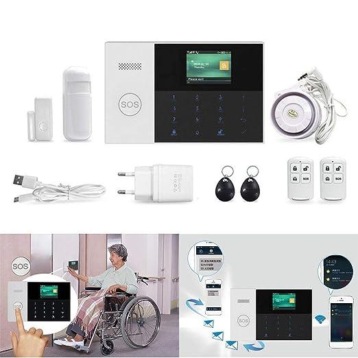 Zuionk - Detector de humos 3G + WIFI inteligente, sistema de seguridad 99 Wireless Zone: Amazon.es: Bricolaje y herramientas