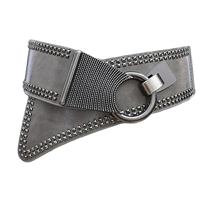Oyccen Mujeres Punk Remache Cinturón Elástico Cinturones Damas Pretina  Vestido Decoración  Amazon.es  Ropa y accesorios c67bf08f15b7